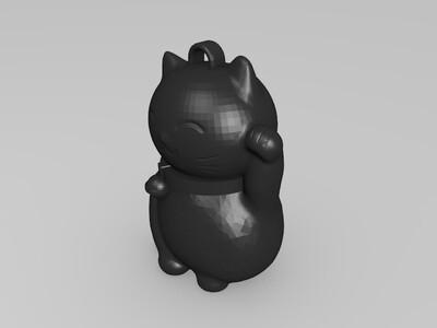 猫魅力玩具-3d打印模型