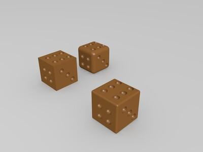 色子-3d打印模型