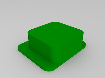 萌小方机器人-3d打印模型