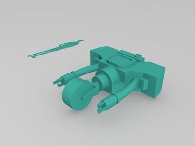 辐射好好先生-3d打印模型