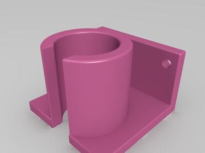 波纹管架-3d打印模型