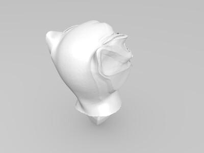 黑豹  漫威-3d打印模型