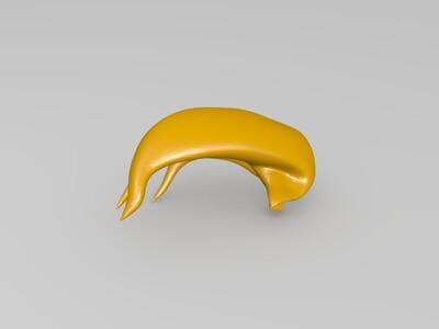 暴走萝莉金克斯-3d打印模型