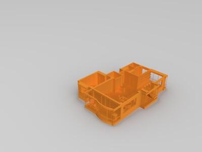 家装户型图3(有贴图,购买发3dmax原文件)-3d打印模型