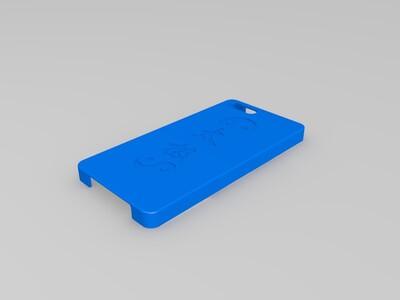 小米NOTE3手机壳-3d打印模型