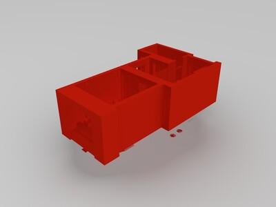 家装户型图2(有贴图,购买发3dmax原文件)-3d打印模型