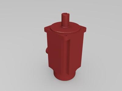 伺服电机-3d打印模型