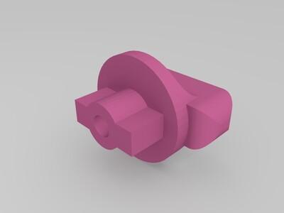 配电箱旋钮钥匙-3d打印模型