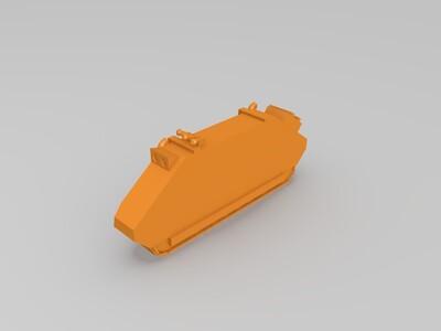 推车-3d打印模型