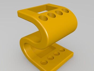 S形笔筒-3d打印模型