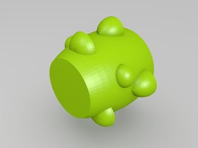 花盆树状花盆-3d打印模型