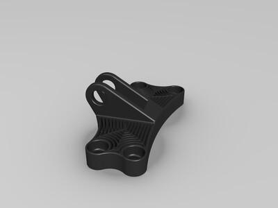 航空支架1-3d打印模型