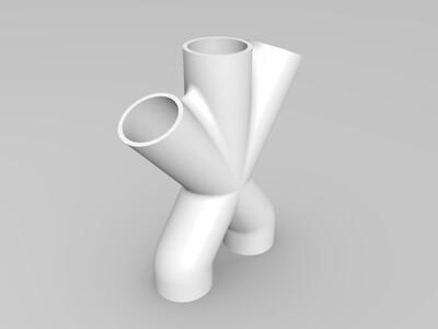 歧管-3d打印模型