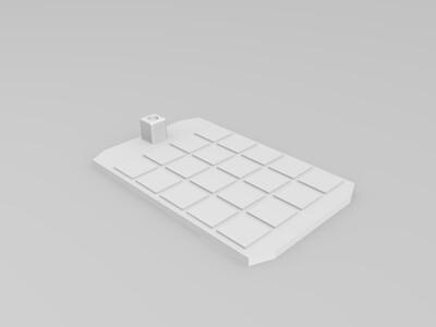 月球车-3d打印模型