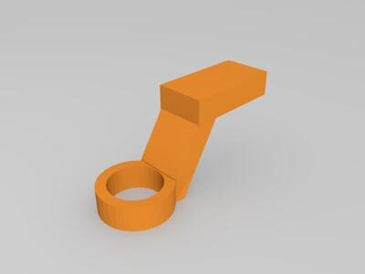 仿摩根三轮汽车-电动遥控-3d打印模型