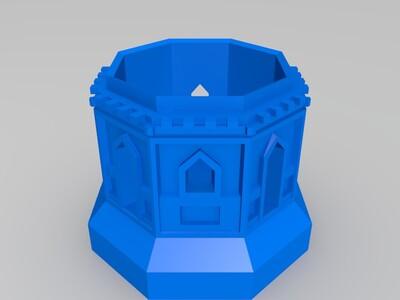 七层宝塔(修复版)-3d打印模型