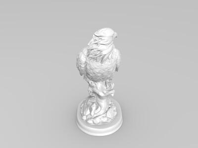 老鹰-3d打印模型