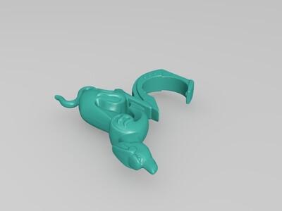 狗年旺旺-3d打印模型