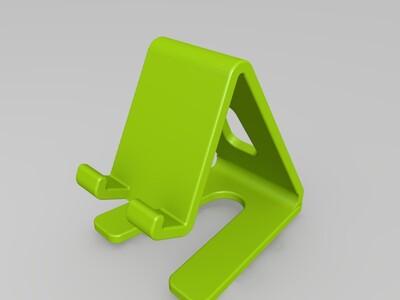 简易式手机支架-3d打印模型
