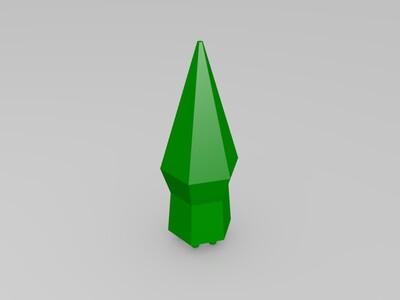 阴影之主的战斗十字-3d打印模型