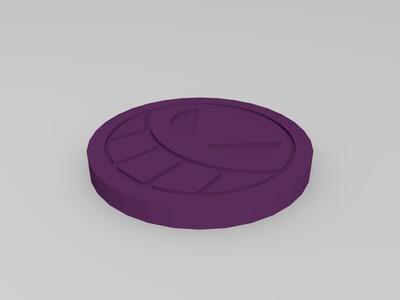 艾斯帽子上的脸-3d打印模型