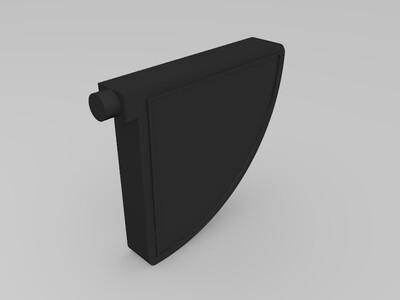 面具小夜灯-3d打印模型