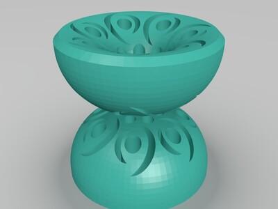悠悠球-3d打印模型