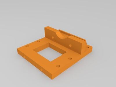 近端挤出机-3d打印模型
