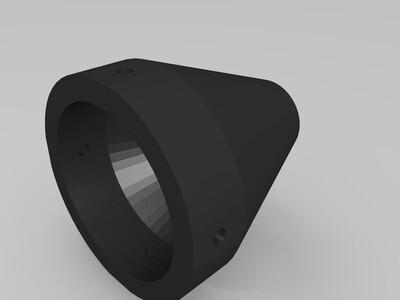 陶泥挤出机-3d打印模型