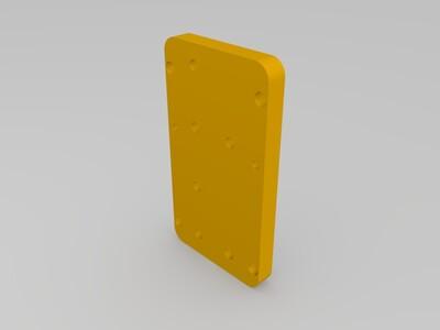 浆料挤出机-3d打印模型