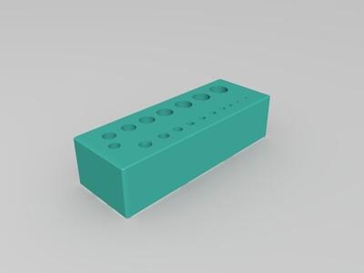 钻头收纳-3d打印模型