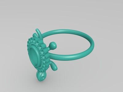 龟戒-3d打印模型
