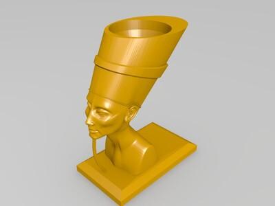 奈费尔提蒂蛋杯-3d打印模型