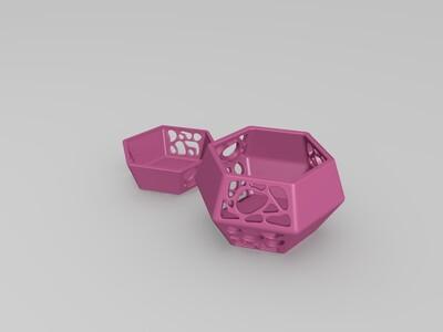 镂空储物盒-3d打印模型