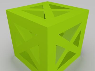 骰子-3d打印模型