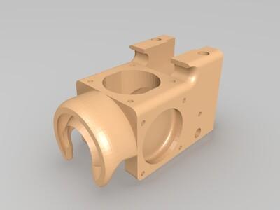 E3DV6风道-3d打印模型