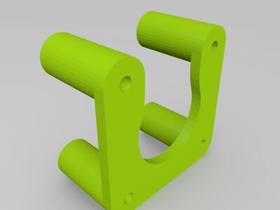 步进电机安装座-3d打印模型