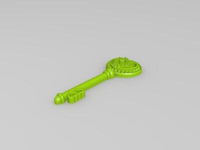 钥匙坠-3d打印模型