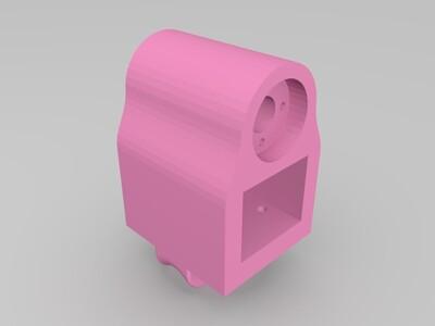 滑轨固定块-3d打印模型