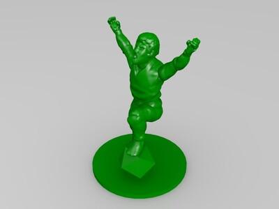 疯狂的DM-3d打印模型