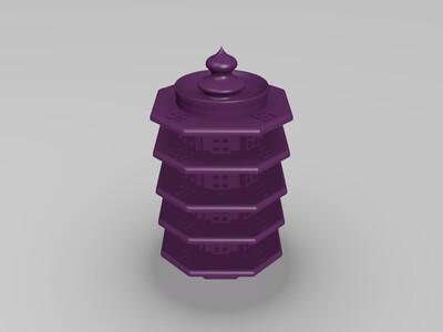佛塔-3d打印模型