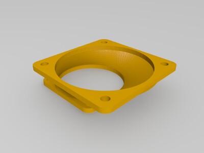 风扇30与40转换器-3d打印模型