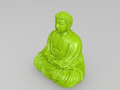如来佛祖-3d打印模型