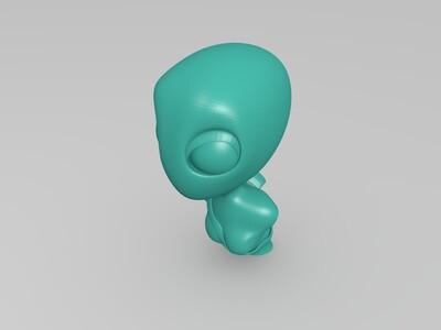 外星人-3d打印模型