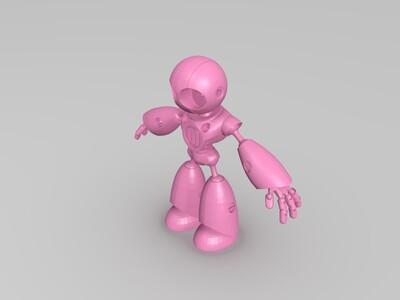 马克小机器人、已经拆分好、直接打印-3d打印模型