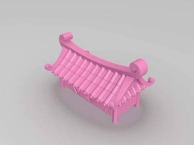 小楼-3d打印模型