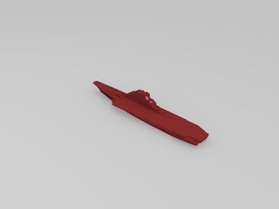 基辅级航母明斯克-3d打印模型