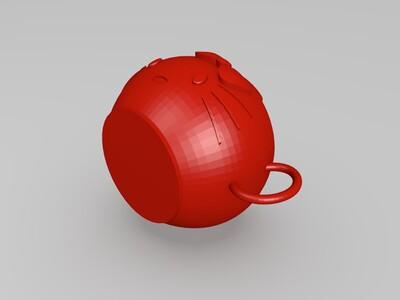 kitty 咖啡杯-3d打印模型