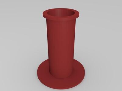 料架轴桶-3d打印模型
