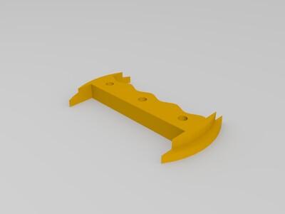 风筝线轮-3d打印模型